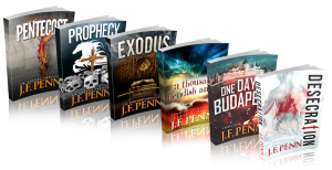 J.F. Penn's six novels...