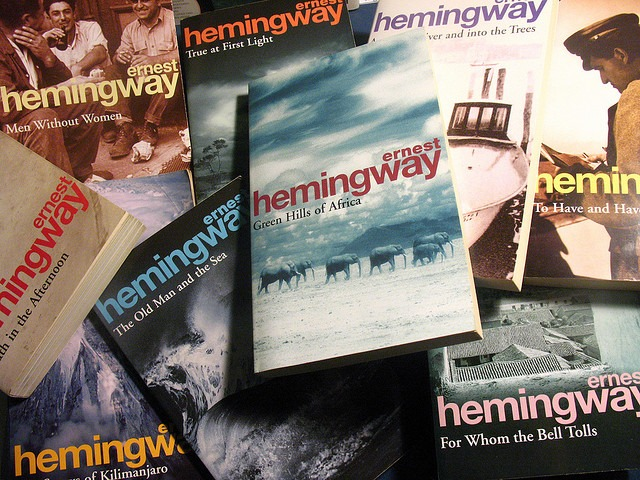 Hemingway books
