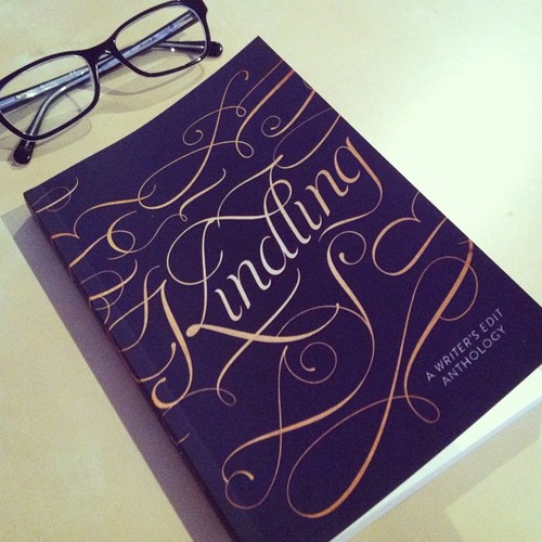 kindling with glasses