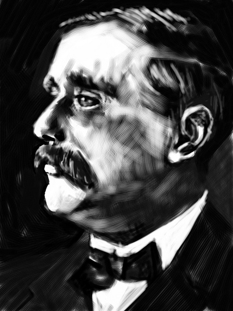 HG Wells_bw short stories
