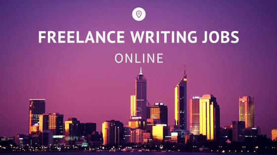 Online writing help jobs freelance