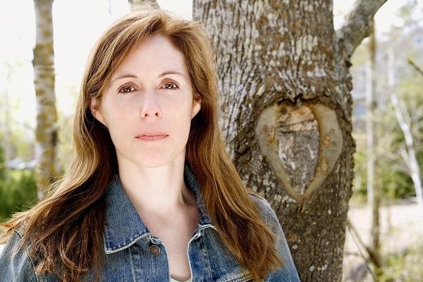 American author of YA novel 'Speak', Laurie Halse Anderson...