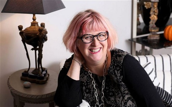 UK author of 'Maggot Moon', Sally Gardner. Image Credit: Clare Molden for The Telegraph.