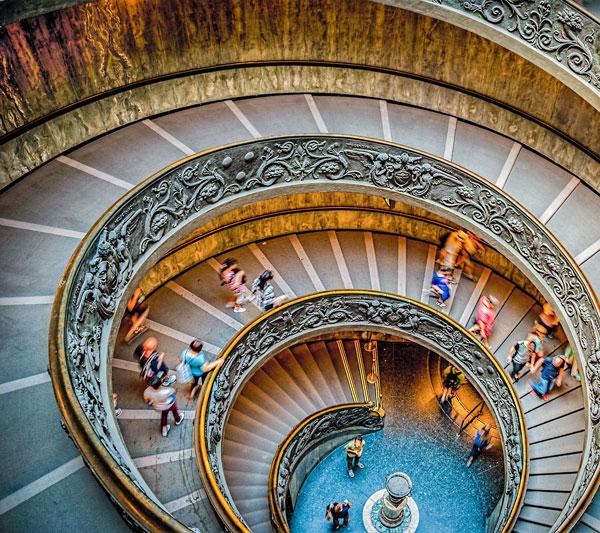 Circular Journey Spiral Staircase