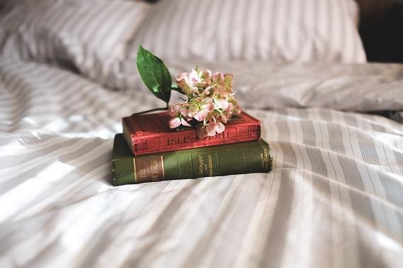 Linda loves books by contemporary female writers. Image Credit: Annie Spratt via Stocksnap